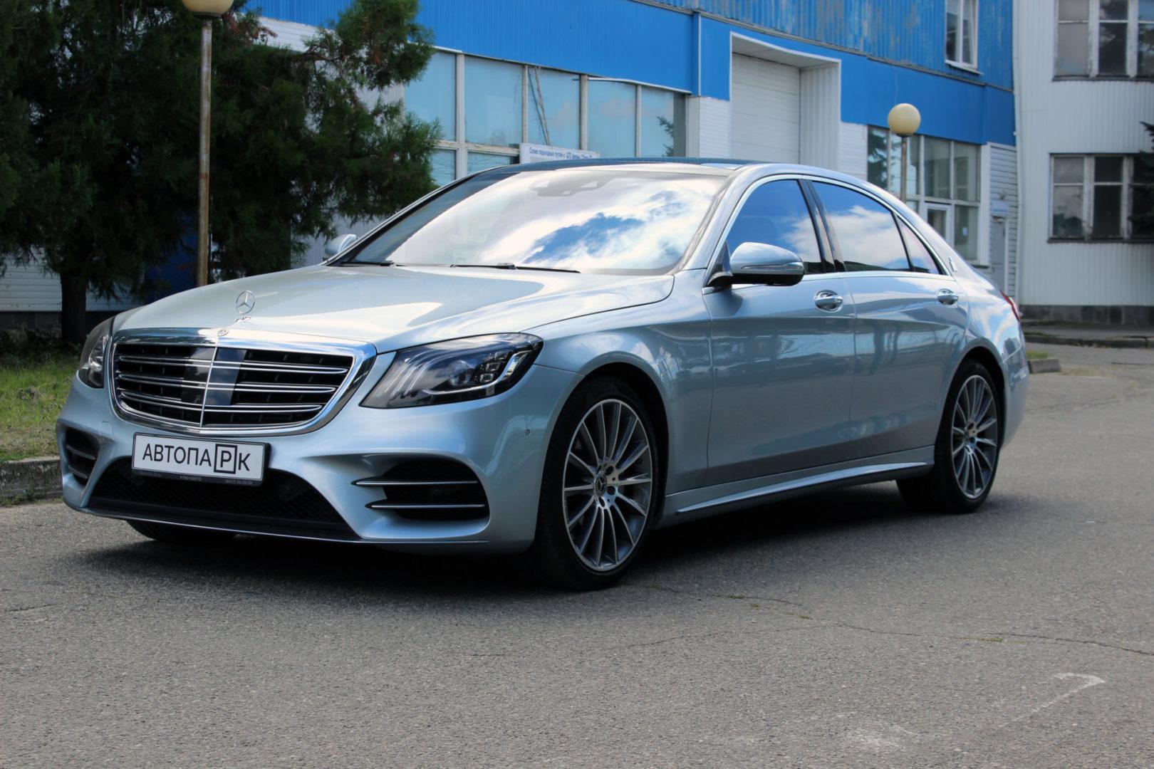 Купить Mercedes-Benz S-класс (Серебристый ) - Автопарк Ставрополь