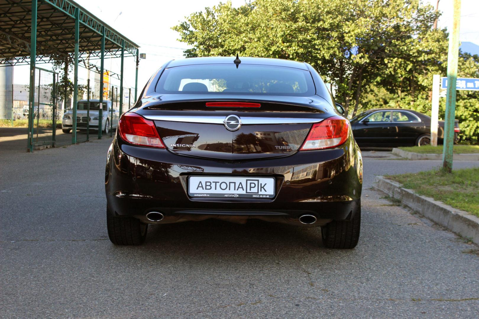 Купить Opel Insignia (Коричневый) - Автопарк Ставрополь