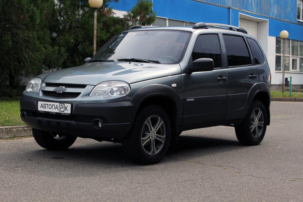 Купить Chevrolet Niva (Тёмно-серый металлик) - Автопарк Ставрополь