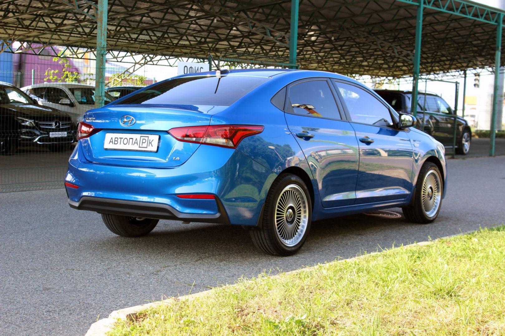 Купить Hyundai Solaris (Синий) - Автопарк Ставрополь