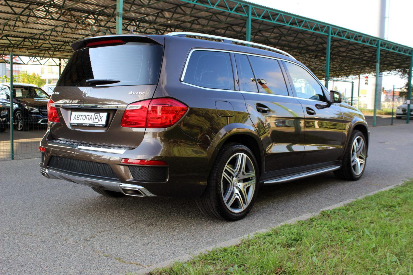 Купить Mercedes-Benz GL-класс (Коричневый) - Автопарк Ставрополь