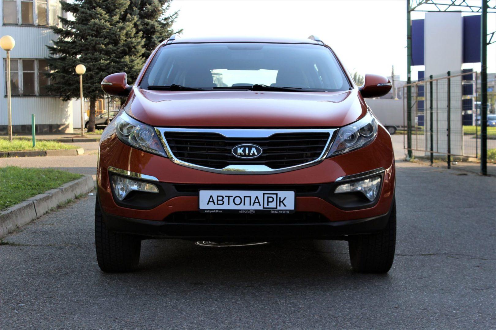 Купить Kia Sportage (Оранжевый) - Автопарк Ставрополь