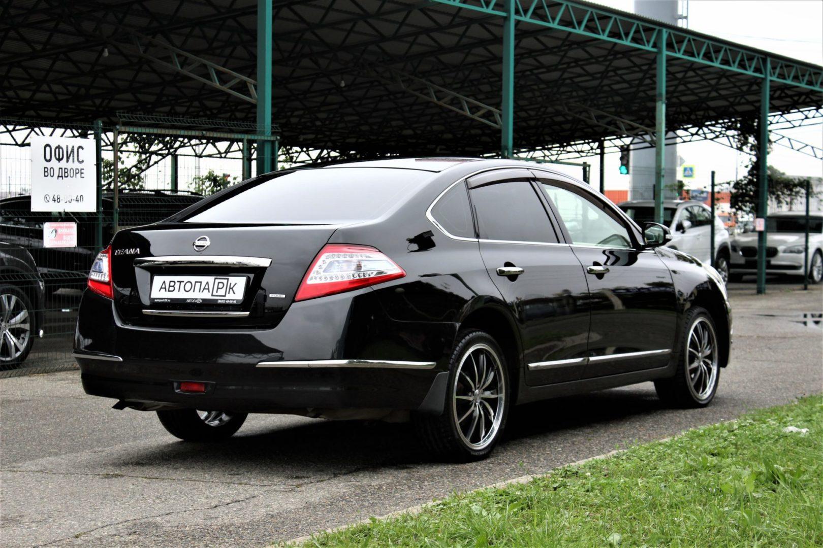 Купить Nissan Teana (Черный) - Автопарк Ставрополь