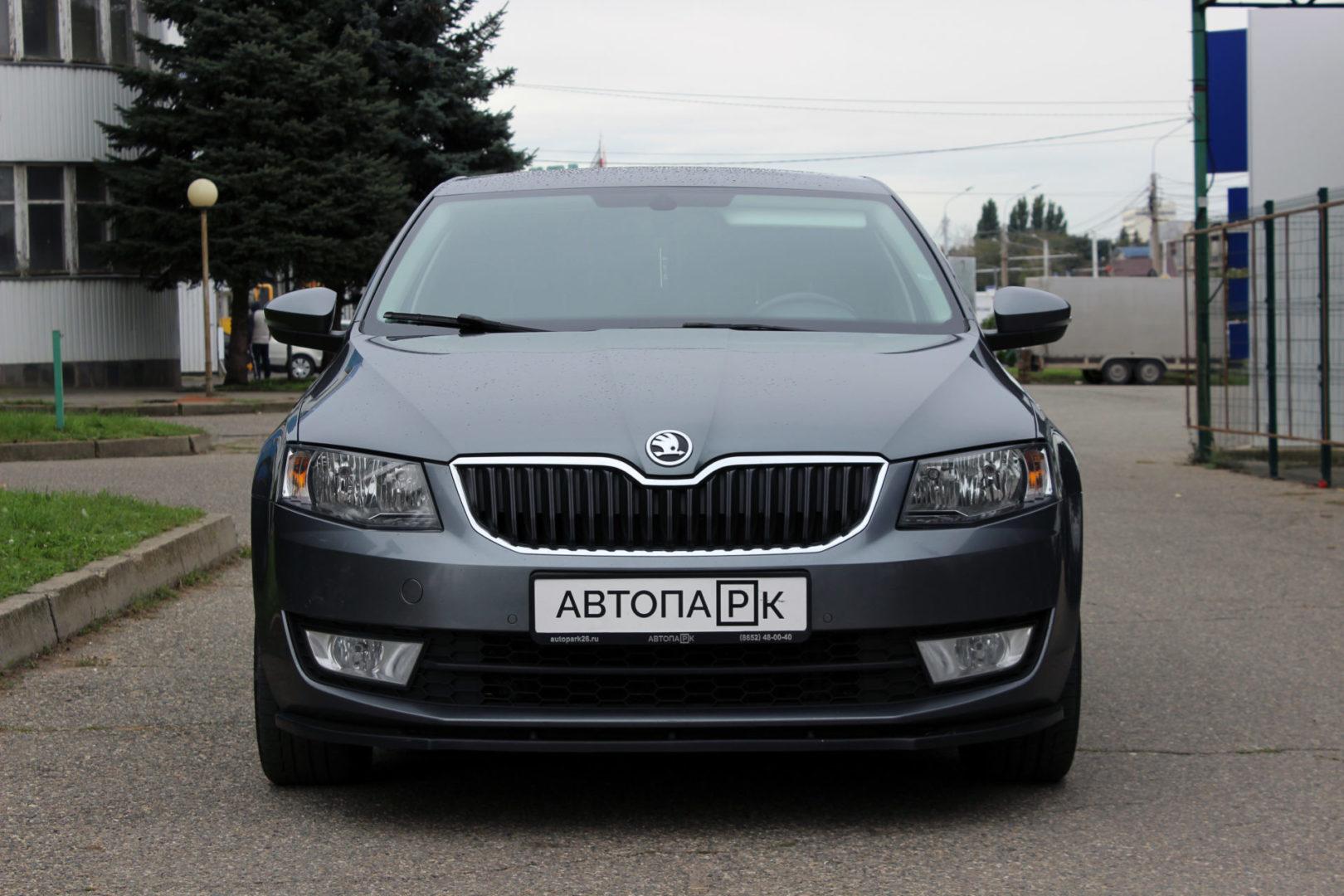 Купить Skoda Octavia (Тёмно-серый) - Автопарк Ставрополь