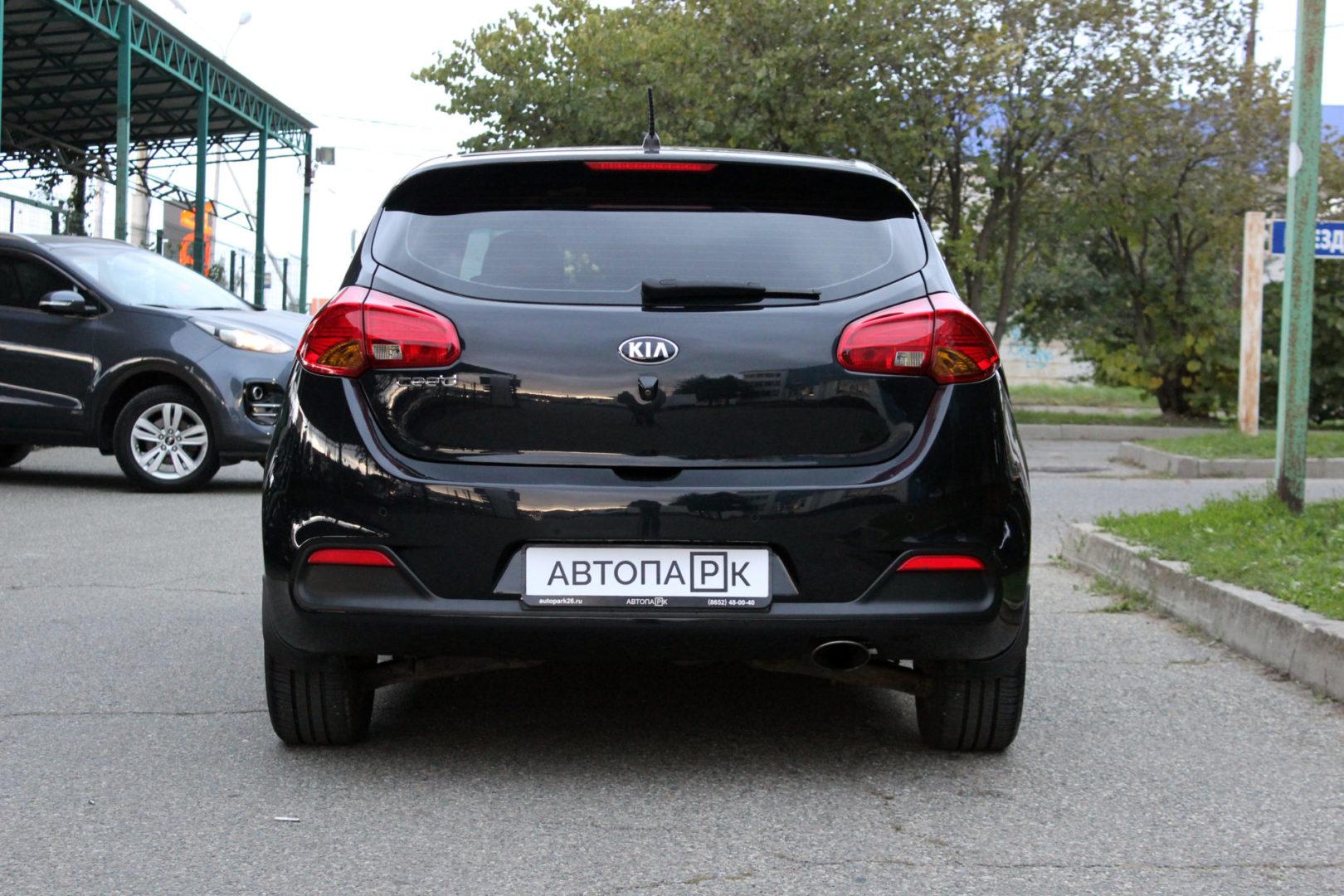 Купить Kia Ceed (Черный перламутр) - Автопарк Ставрополь