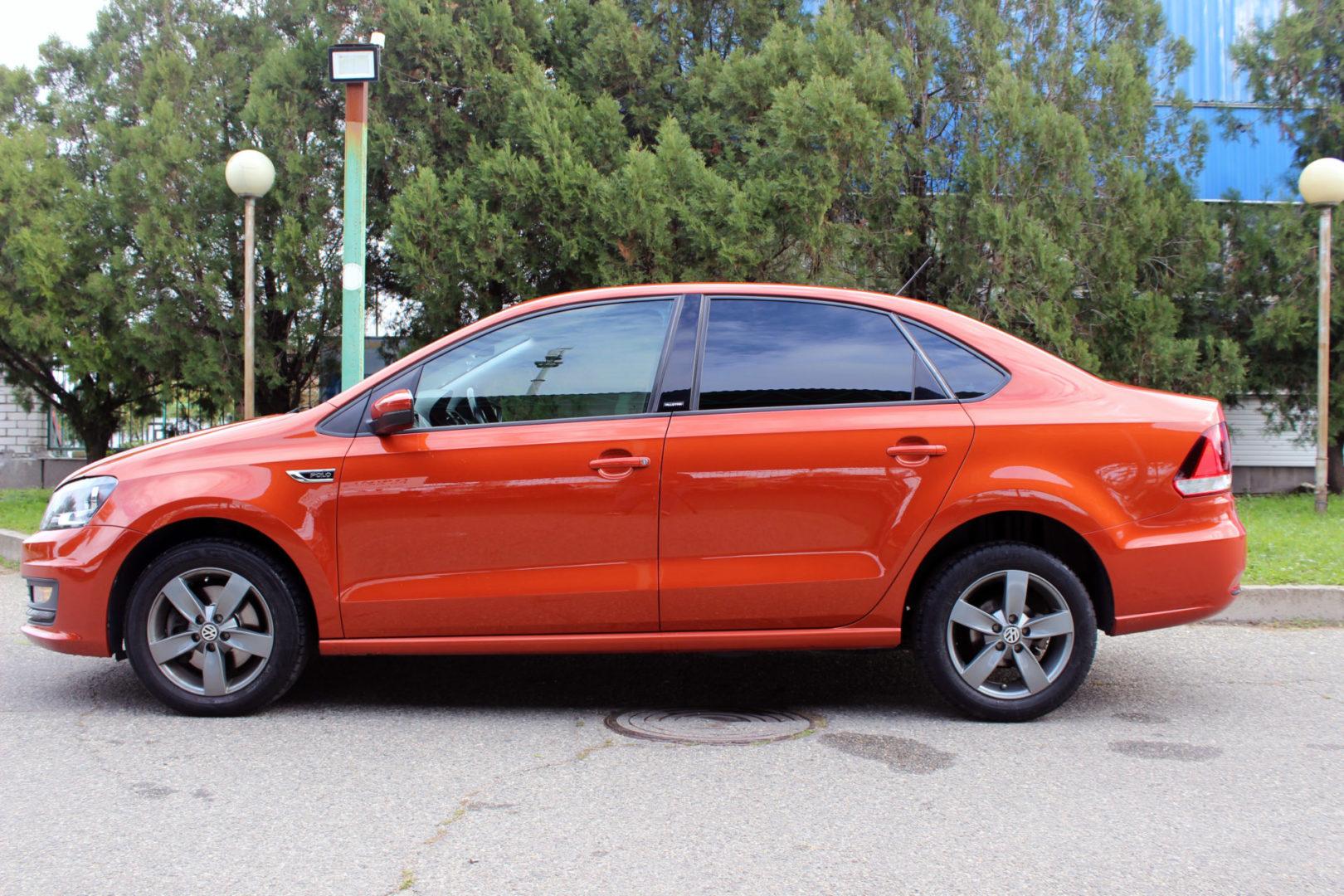 Купить Volkswagen Polo (Оранжевый) - Автопарк Ставрополь