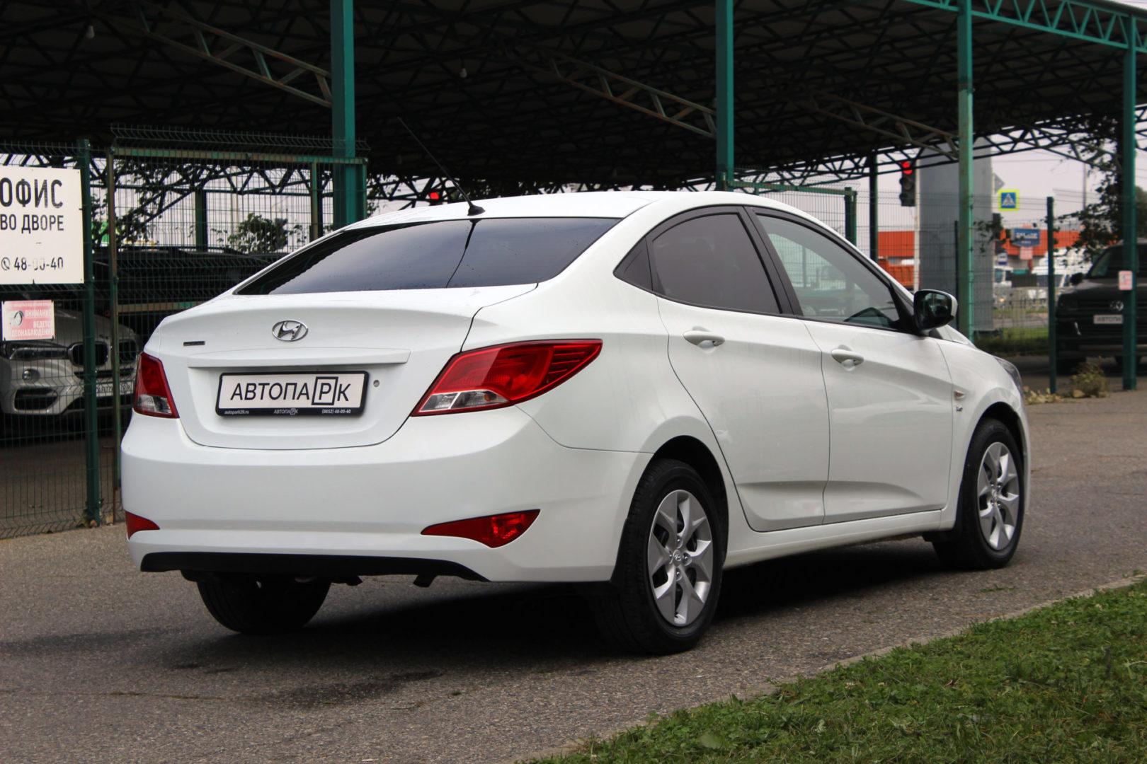 Купить Hyundai Solaris (Белый) - Автопарк Ставрополь