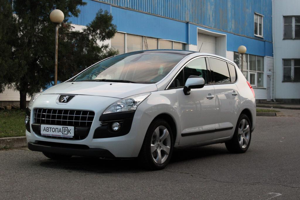 Купить Peugeot 3008 (Белый) - Автопарк Ставрополь