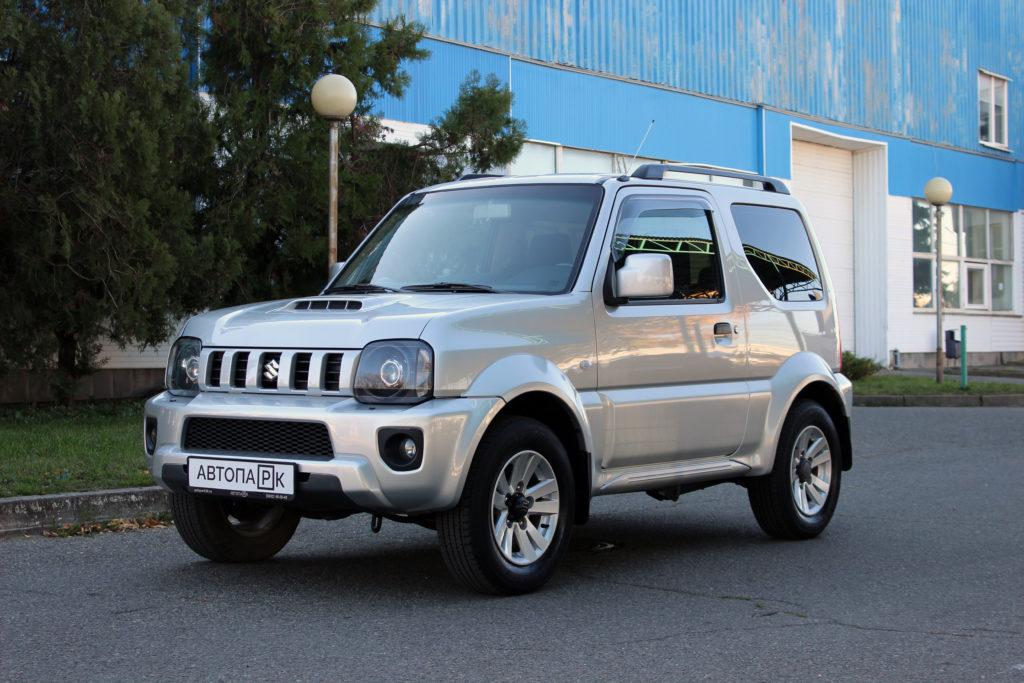 Купить Suzuki Jimny (Серебристый) - Автопарк Ставрополь